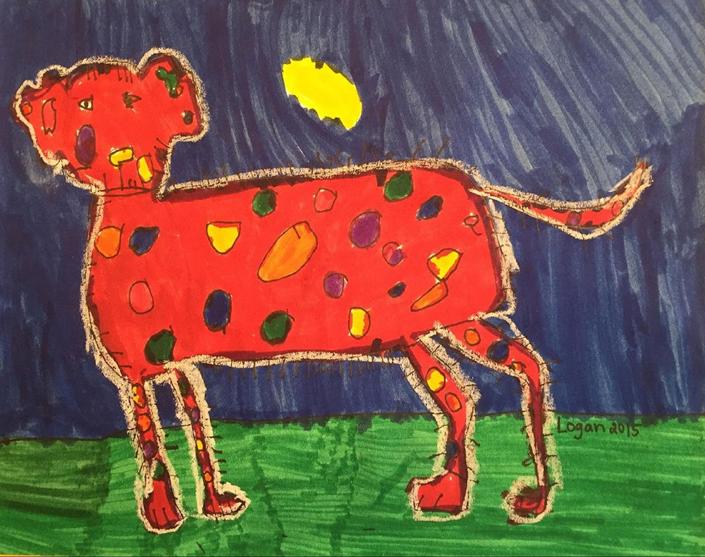 Delightful Dalmation by Logan B.